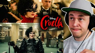 Disney's Cruella Official Trailer 2 REACTION & REVIEW
