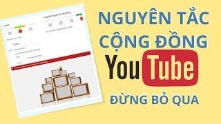 Đừng Làm Kiếm Tiền Youtube Nếu Bạn Chưa Biết Về Vấn Đề Nguyên Tắc Cộng Đồng | Duy MKT