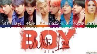 BTS (방탄소년단) - 'BOY WITH LUV' feat Halsey Lyrics [Color Coded_Han_Rom_Eng]