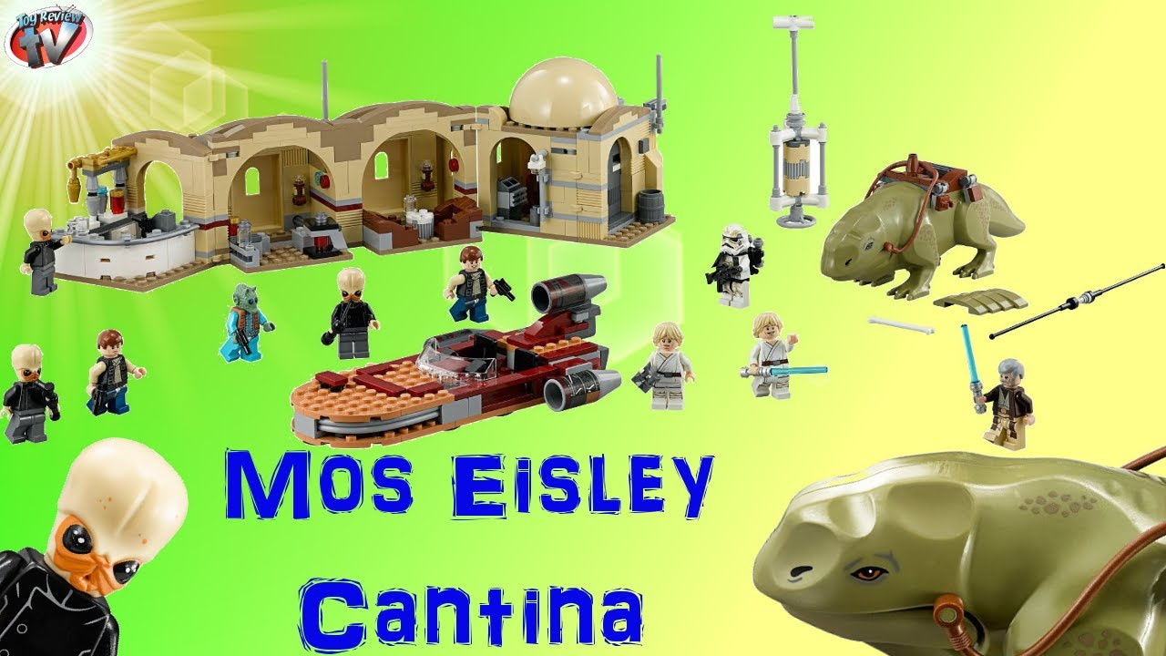 Lego Star Wars Mos Eisley Cantina 75052 Toy Review