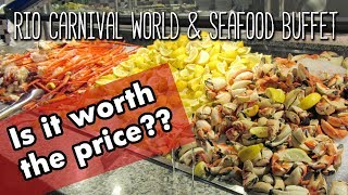 Carnival World & Seafood Buffet: Tour + Money Saving Tips!