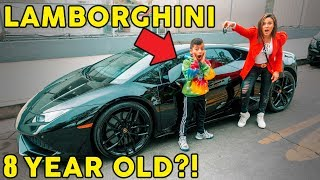 Our 8 Year Old Son Finally Got His LAMBORGHINI **HIS DREAM CAME TRUE** | The Royalty Family