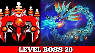 Space Shooter galaxy Attack   Elite Mode BOSS 20   2020 Gameplay.