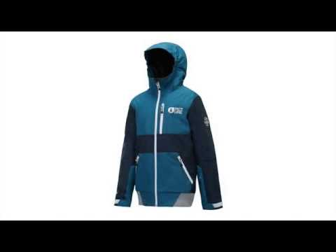 Picture Slope Boys Ski Jacket in Dark Blue
