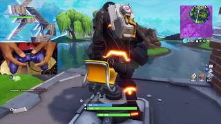 Bet you HAVEN'T seen this before.... (Fortnite Battle Royale gameplay)
