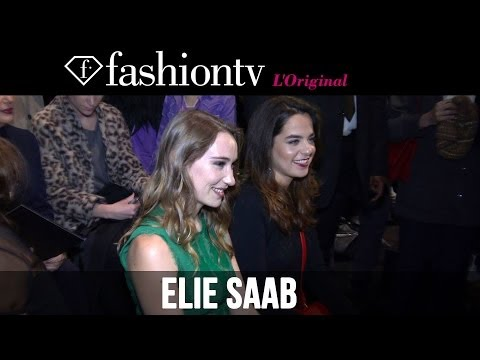 Elie Saab Fall/Winter 2014-15 Front Row   Paris Fashion Week PFW   FashionTV - Smashpipe Style