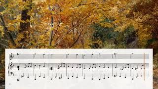 Waltz №5 (violin and piano, MIDI synth + sheet music)