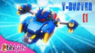 Phim Hoạt Hình Hay - Robot Người Máy TBuster tập 01 | Hoạt Hình Vui Nhộn 2017