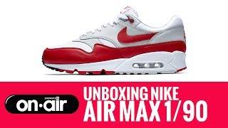 SBROnAIR Vol. 70 - Unboxing Nike Air 1/90 #piranomeuair