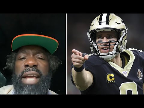 "Ed Reed GOES HARD At Drew Brees, Saints Fans YELL ""F**K DREW BREES"""