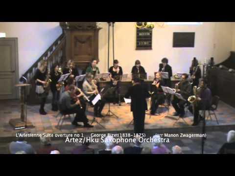 L Arlesienne Suite overture no 1 George Bizet arr Manon Zwagerman