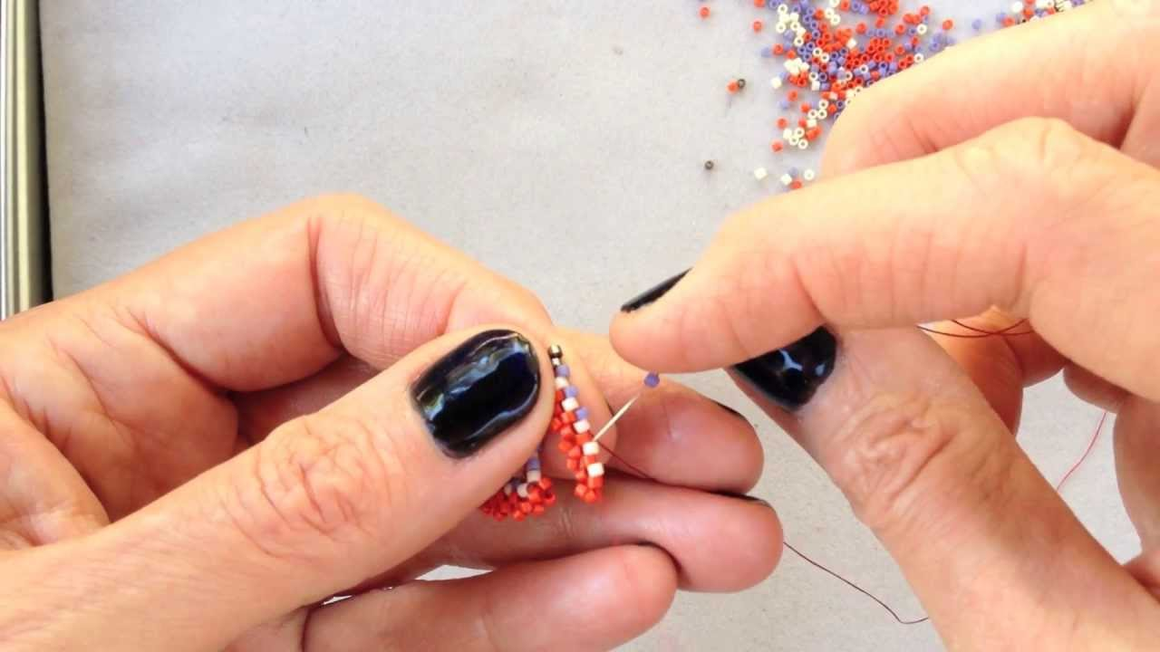 Bead Weaving ideas and patterns - Magazine cover