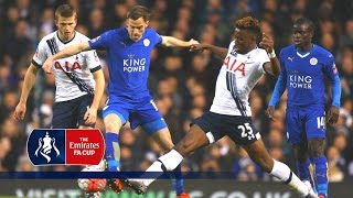 Tottenham 2-2 Leicester - Emirates FA Cup 2015/16 (R3) | Goals & Highlights