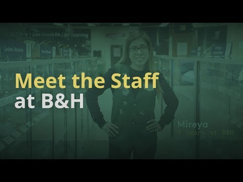 Meet the Staff at B&H Photo. Our goal at B&H's is to help you find the products best suited for your creative needs. With over 1000 talented employees, our staff will guide you through the process of identifying exactly which gear is right for you. Check the video out to meet some of our team!