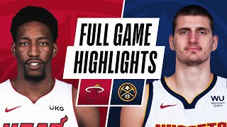 HEAT at NUGGETS | FULL GAME HIGHLIGHTS | April 14, 2021