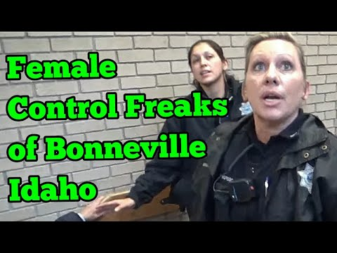We asked him not to but he's still exercising rights, can we arrest him?  Bonneville County Idaho