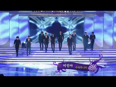 [HD] 10.07.25 Super Junior -Bonamana《美人啊》2010韓國小姐