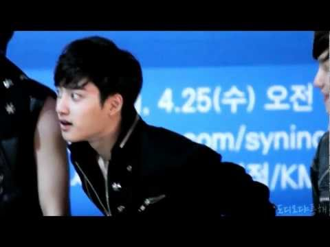 EXO D.O's cute figure + history dance.wmv