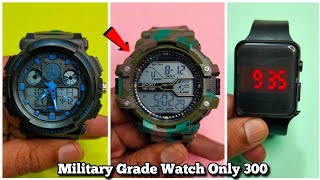 Cheapest Military Army Digital Sports Watch Unboxing & Review - Chatpat toy tv