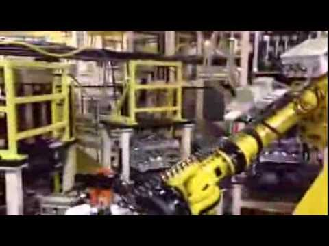 ROBOHAND in Action - Ford Powertrain Globally Approved