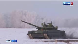 Омский завод транспортного машиностроения выполнил крупнейший за последние годы гособоронзаказ по поставке танков Т-80БВМ