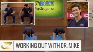 Working Out With Dr. Mike