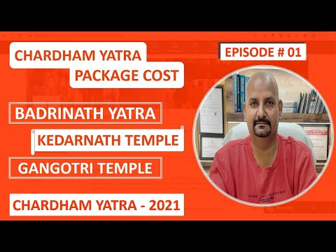 Chardham Yatra Package From Haridwar 2021