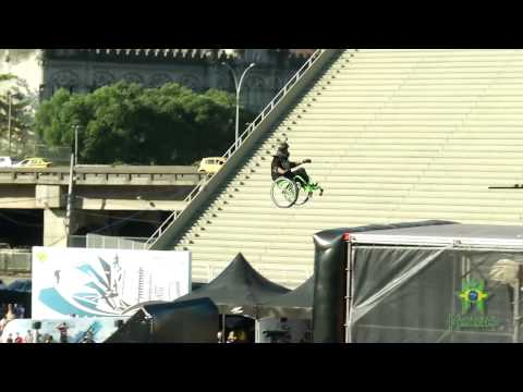 "Aaron ""Wheelz"" Fotheringham Jumps the MegaRamp"