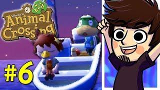 Animal Crossing New Leaf! | Nintendo 3DS (Part 6) - PeebLive