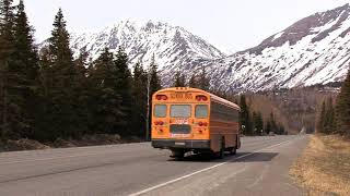 Real School Bus Video for Babies & Toddlers  Wheels On The Bus   Educational Transportation Video