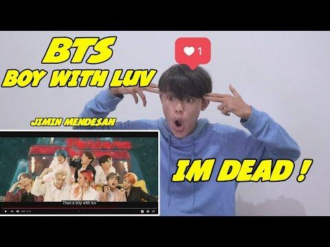 BTS - BOY WITH LUV FEAT HASLEY REACTION II AKU KEMBARAN V