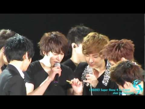 120203 Super Show4 in Taipei Kyuhyun Birthday full cut