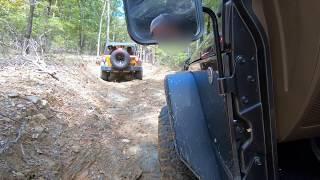Midsouth Jeep Club - Fall Run 2018 -Hot Springs ORV (Clip 1)