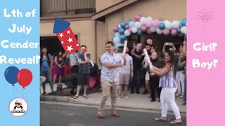 4TH OF JULY GENDER REVEALS COMPILATION PT 2 [ July 2018 ]