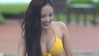 Hoa hậu Việt Nam 2016 - Ngực to, mông nở, khoe dáng bên bể bơi