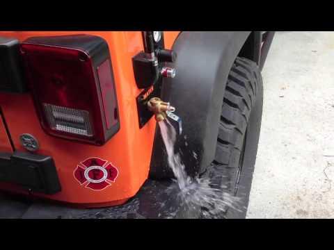 Pressurized Running Water on Jeep Wrangler JK YouTube
