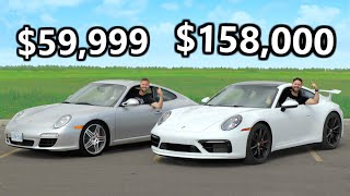 2020 Porsche 911 Carrera S MANUAL vs 2010 Porsche 911 Carrera S // The $100K Divide