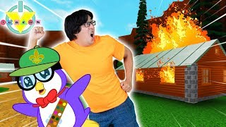 ESCAPE SUMMER CAMP OBBY in ROBLOX ! Let's Play Ryan's Daddy vs Peck