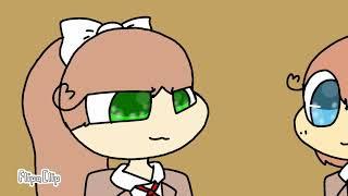 Just Monika Animation//DDLC//(read desc)