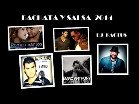 COMPILADO - BACHATA -SALSA - VERANO 2014  - DJ KACTUS - COMPILADO -
