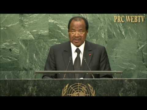 ALLOCUTION DE S.E PAUL BIYA A L'AG DE L'ONU 2016
