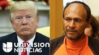 Trump tilda de vergonzoso veredicto contra indocumentado acusado de matar a joven en San Francisco