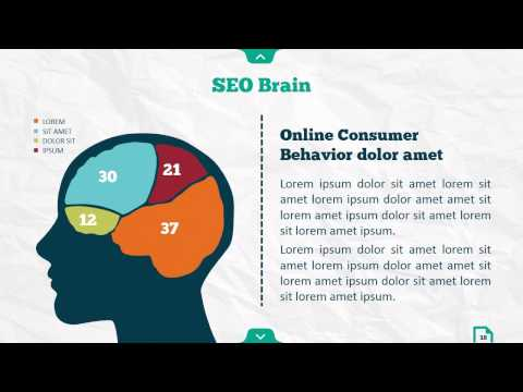 Infographic SEO Powerpoint - Version 02