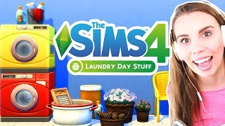 Build and Buy Review! The Sims 4 Laundry Stuff Pack!