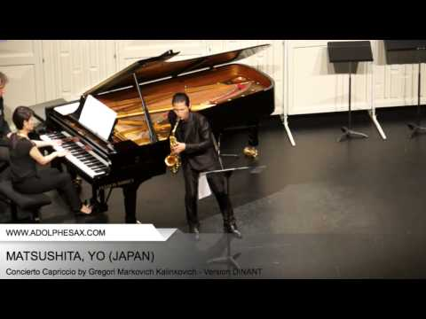 Dinant 2014 - Matsushita, Yo - Concerto Capriccio by Gregori Markovich Kalinkovich