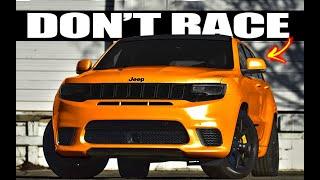 Jeep Trackhawk vs Hellcat in Race