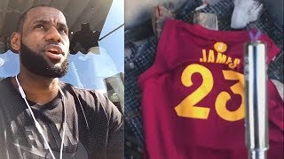 LeBron James Thanks Cleveland After Joining Lakers & Cavaliers Fans Don't Burn His Jersey!