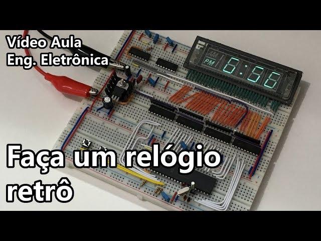 FAÇA UM RELÓGIO RETRÔ | Vídeo Aula #283