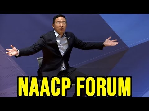 Andrew Yang Speaks at the NAACP Forum | Drake University November 2nd 2019