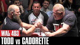 WAL 403: Jerry Cadorette's Epic Matchup Against Michael Todd